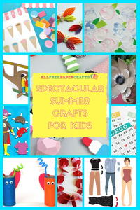 25 Spectacular Summer Crafts for Kids