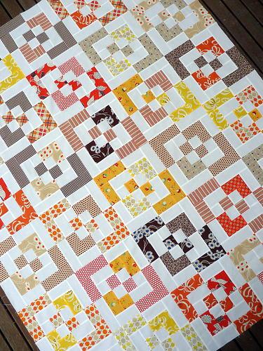 Bento Box Scrap Quilt | FaveQuilts.com : bento box quilt instructions - Adamdwight.com
