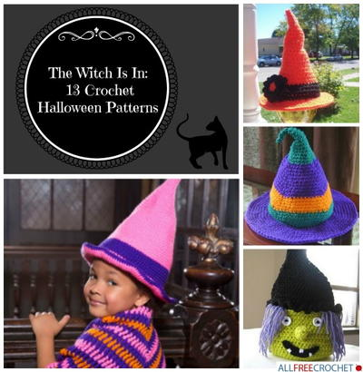 The Witch Is In: 13 Crochet Halloween Patterns