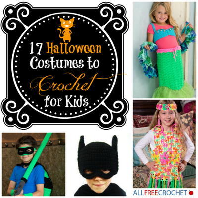 17 Halloween Costumes to Crochet for Kids