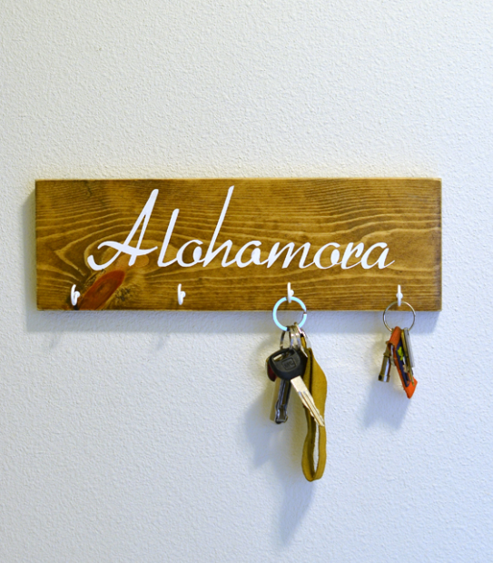 Alohomora DIY Key Rack