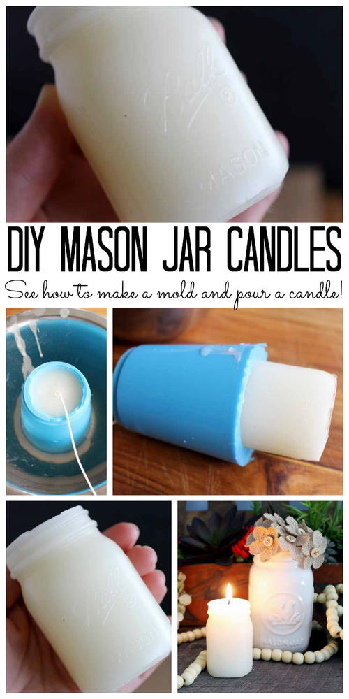 Custom Candles in a Jar Shape