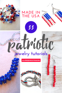 Made in the USA: 33 Patriotic DIY Jewelry Projects