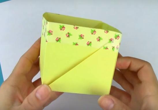 Simple Origami Box With Regular Paper Allfreepapercrafts