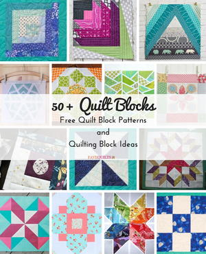 50+ Quilt Blocks: Free Quilt Block Patterns and Quilting Block Ideas