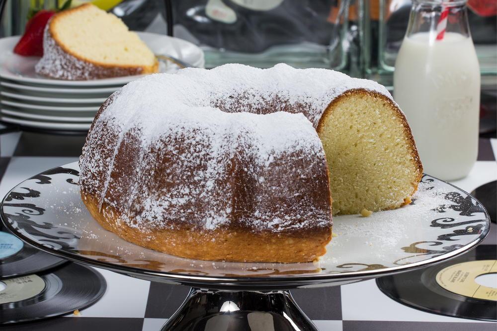 Whipping Cream Pound Cake Elvis