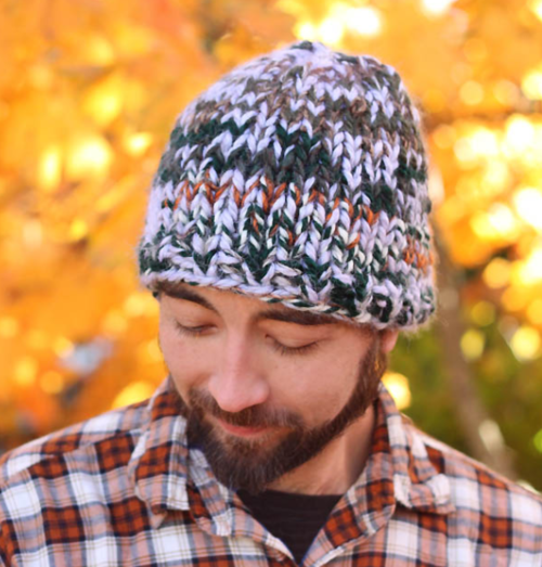 Mens Triple Knit Hat Pattern