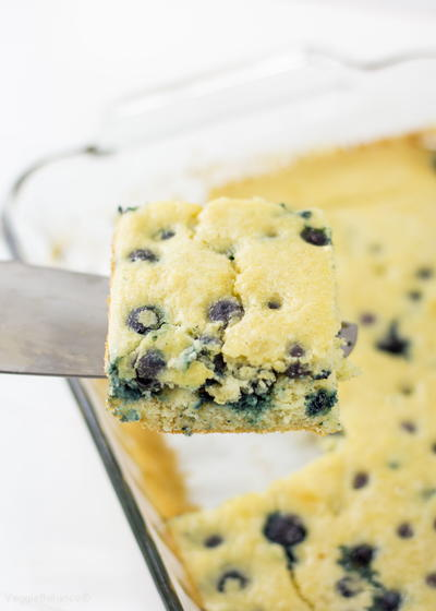 Blueberry Pancake Casserole for a Crowd