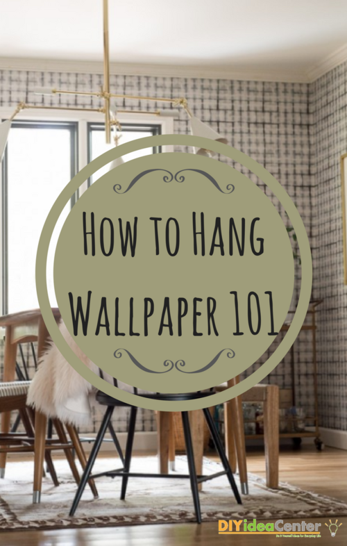 How to Hang Wallpaper 101