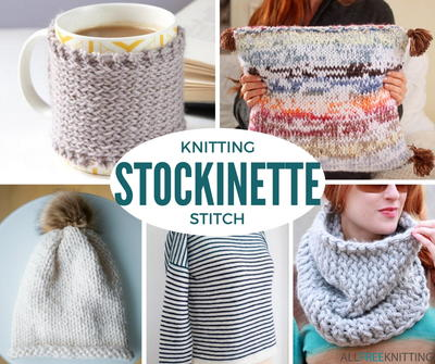 Stockinette Stitch Knitting 52 Free Knitting Patterns
