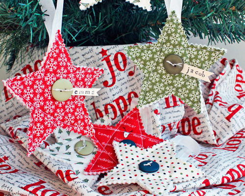 Quilted DIY Christmas Ornaments