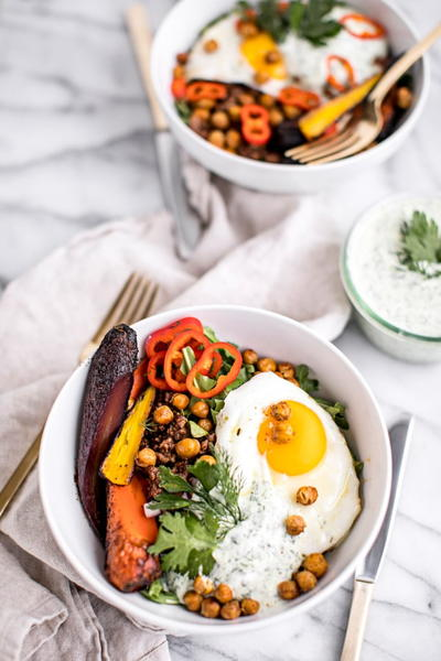 Healthy Turkish Breakfast Bowls