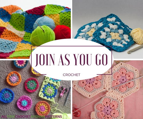 Join As You Go Crochet