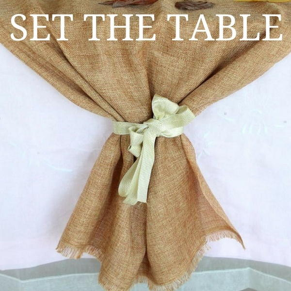 How to Set a Table for Thanksgiving