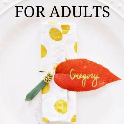 10 Easy Thanksgiving Crafts for Adults