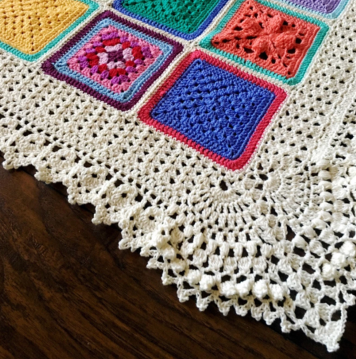 Vibrantly Vintage Crochet Edging Pattern Amazing Crochet Edging Patterns