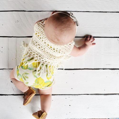 Boho Baby Crochet Vest Pattern Allfreecrochet