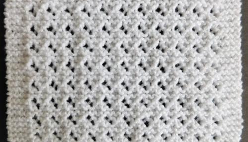 Lovely Lace Baby Blanket Pattern Allfreeknitting