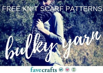 21 free knit scarf patterns using bulky yarn favecrafts free knit scarf patterns using bulky yarn dt1010fo