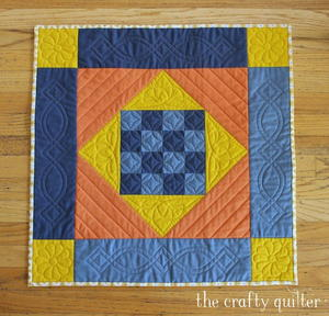 Amish Mini Quilt Pattern