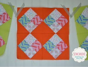 Pop Rox Quilt Block Tutorial