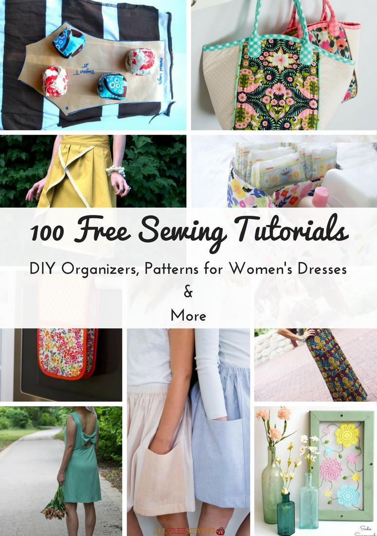 100 free sewing tutorials diy organizers patterns for womens 100 free sewing tutorials diy organizers patterns for womens dresses more allfreesewing jeuxipadfo Images