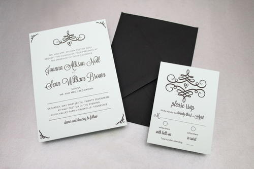 Graceful Invitation Design