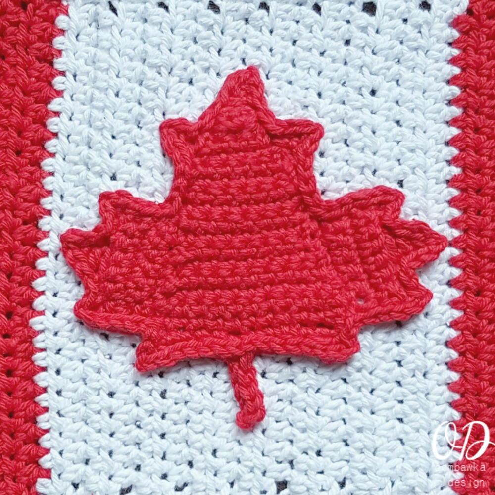 Canadian Maple Leaf | AllFreeCrochet.com