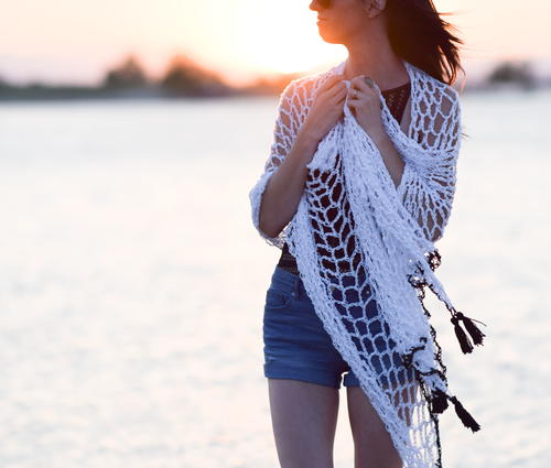 Infinite Ways Crocheted Sarong