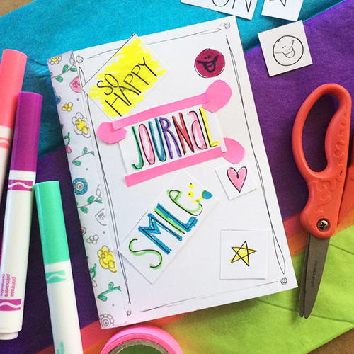 DIY Paper Journal for Kids