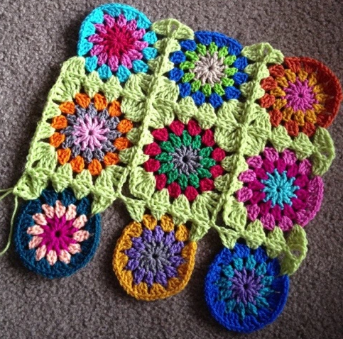 Join As You Go Crochet Tutorial
