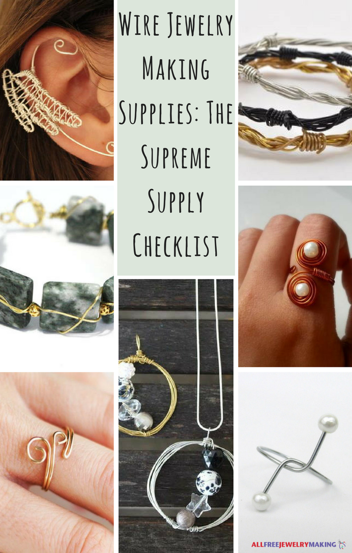Wire Jewelry Making Supplies: The Supreme Supply Checklist ...