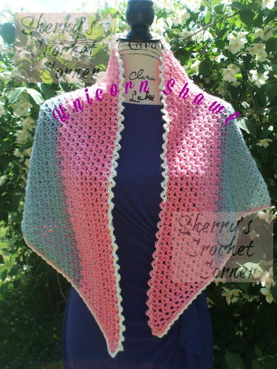 Unicorn Shawl