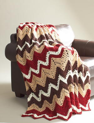 Cabin in the Woods Crochet Afghan