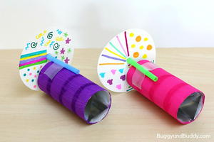 Fun Kaleidoscope Making for Kids