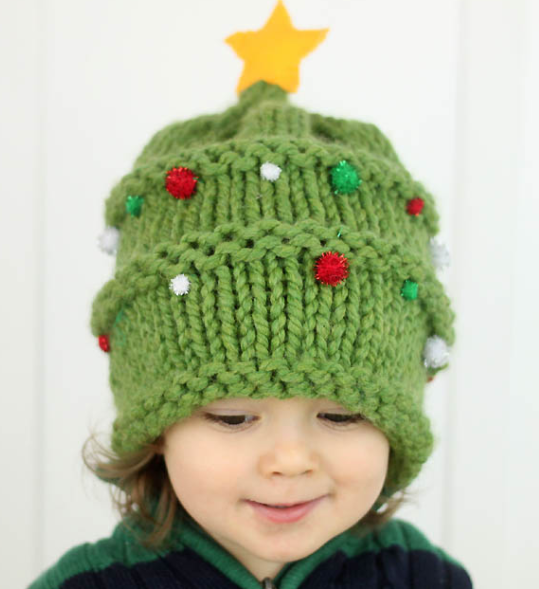 Baby Christmas Hat Knitting Pattern  QP88 – Advancedmassagebysara 85b62ca77e3