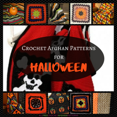 18 Free Crochet Afghan Patterns for Halloween ...