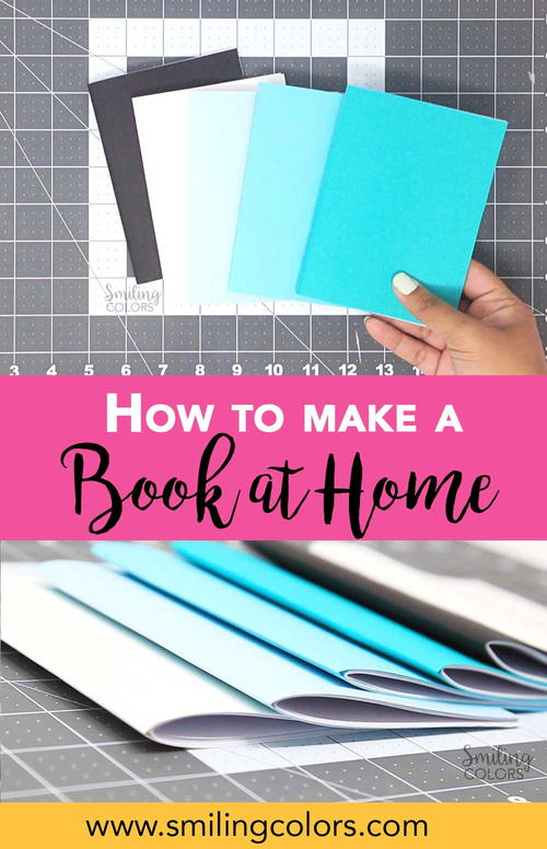 how to make a book at home video