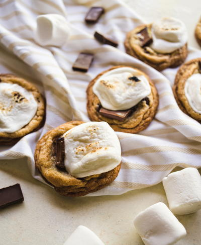 Toasted Smores Cookies