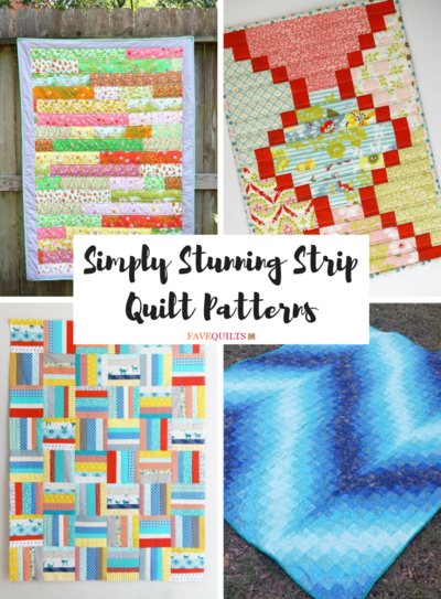 31 simply stunning strip quilt patterns favequilts simply stunning strip quilt patterns negle Choice Image