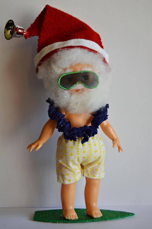 Santa Holidaying in Hawaii Tutorial