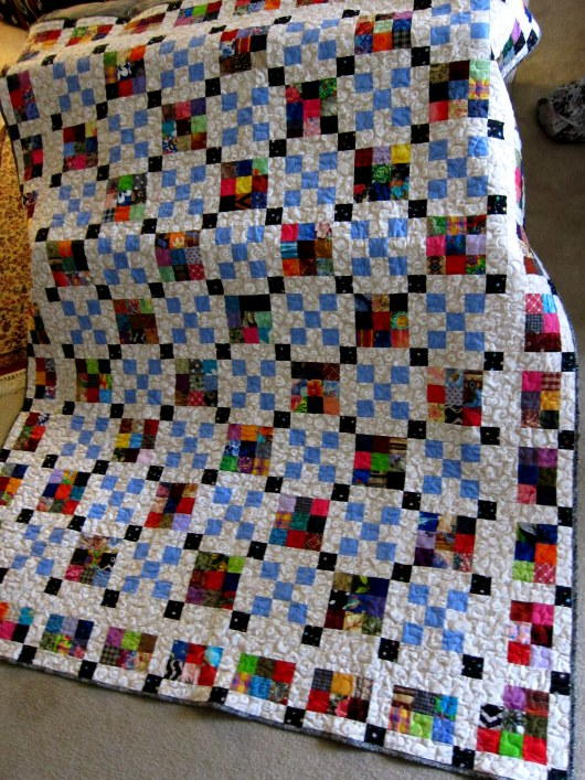 Scrap Happy Nine Patch Quilt Pattern Favequilts