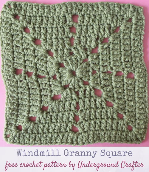 Windmill Granny Square