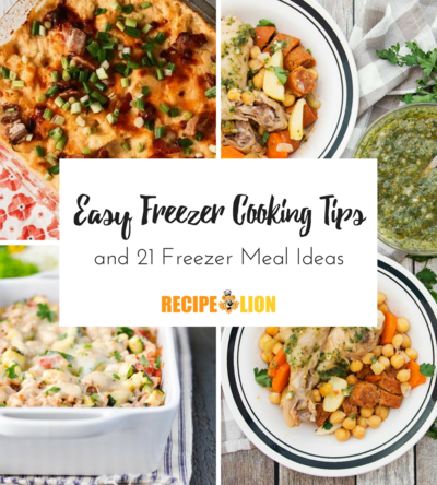 Easy Freezer Cooking Tips