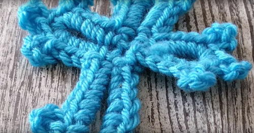 Quick Cross Bookmark Crochet Pattern