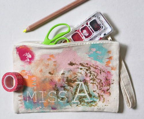 Little Picasso DIY Pencil Pouch