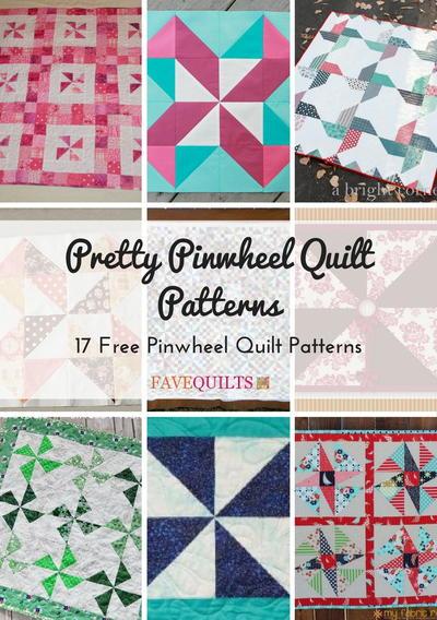 Pretty Pinwheel Quilt Patterns 17 Free Pinwheel Quilt Patterns