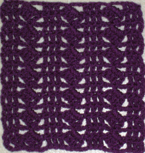 Diamond Sensation Granny Square Pattern