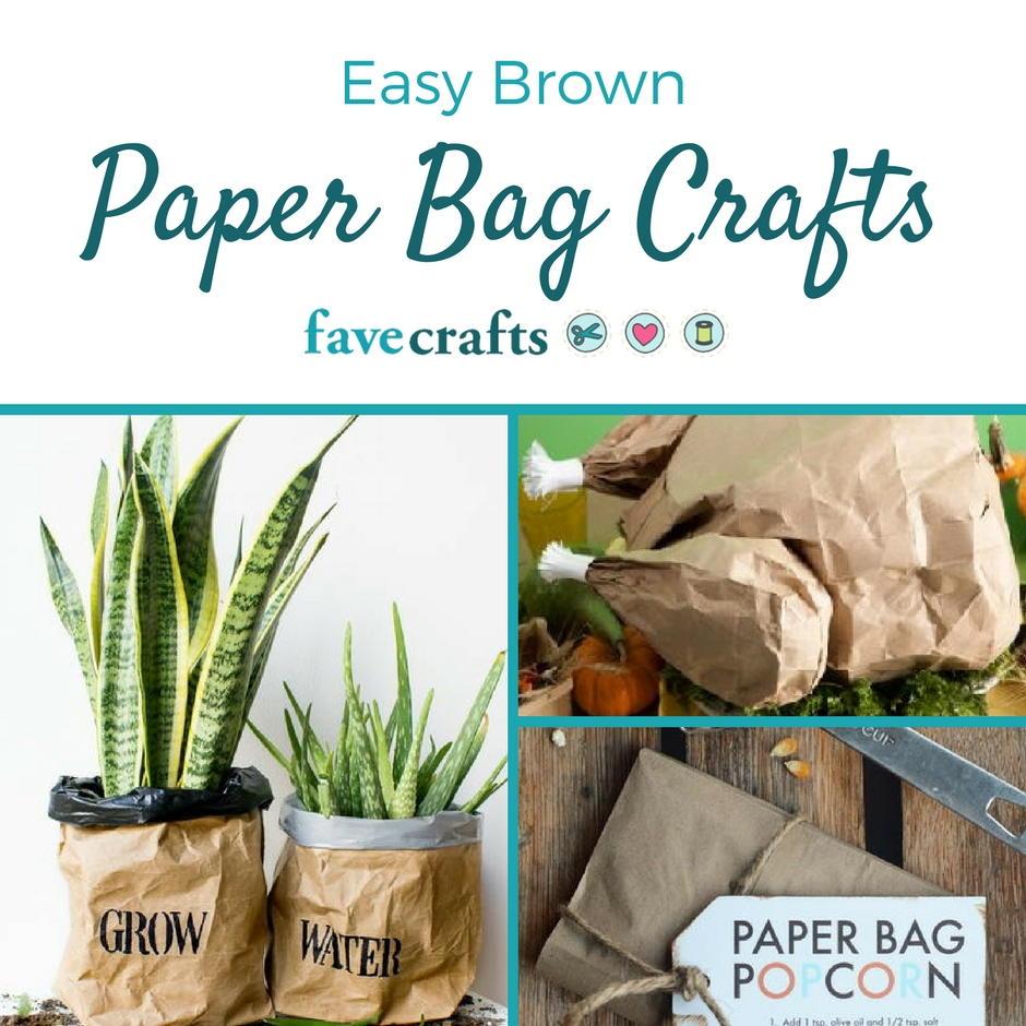 20 brown paper bag crafts favecrafts jeuxipadfo Gallery