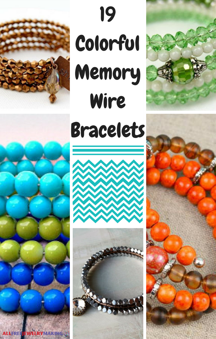 19 Colorful Memory Wire Bracelets | AllFreeJewelryMaking.com